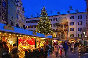 (vignette) Vignette Autriche Innsbruck March Noel  fo