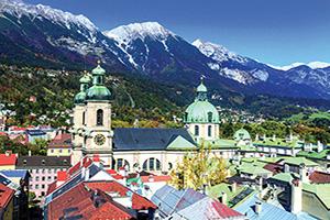(vignette) Vignette Autriche Innsbruck Panorama  it