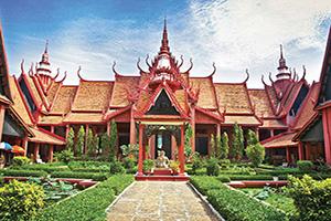 cambodge phnom penh musee national  fo