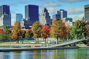canada montreal panorama  fo