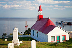 canada quebec tadoussac chapelle  fo