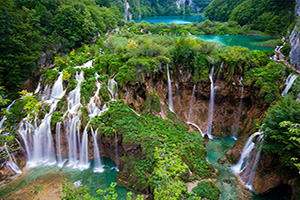 (vignette) Vignette Croatie Plitvice Cascades  it