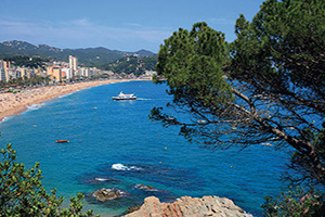 espagne costa brava lloret de mar panorama  it