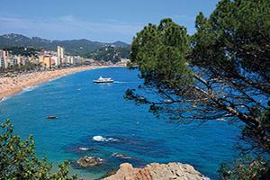 (vignette) Vignette Espagne Costa Brava Lloret de Mar Panorama  it
