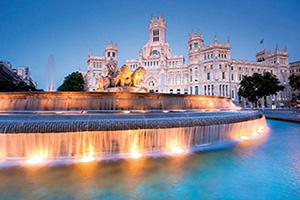 (vignette) Vignette Espagne Madrid Plaza de Cibeles  it