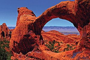 (vignette) Vignette Etas Unis Utah Arches National Park  it