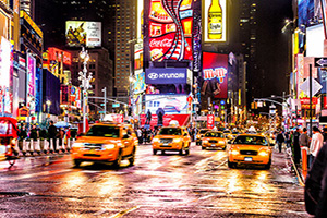etats unis new york th avenue times square  it
