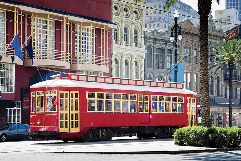 etats unis nouvelle orleans tramway  it