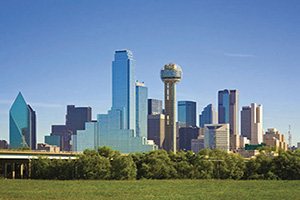 etats unis texas dallas panoramique  it