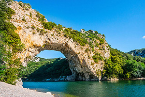 france ardeche pont naturel  it