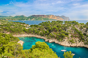 france marseille calanque port pin  fo