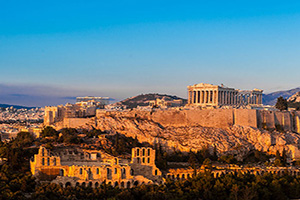 grece athenes acropole parthenon  it