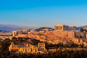 (vignette) Vignette Grece Athenes Acropole Parthenon  it