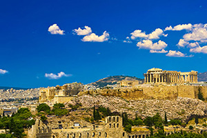 grece athenes acropolis  fo