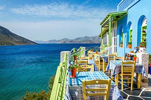 grece restaurant typique balcon  it