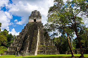 (vignette) Vignette Guatemala Tikal ruines pyramides  it