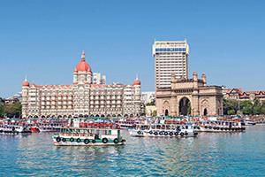 inde mumbai taj mahal hotel et passerelle  fo