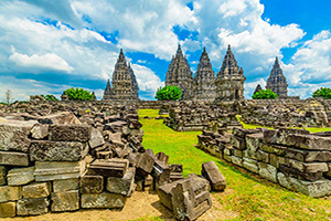 indonesie yogyakarta temple prambanan  it