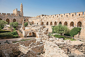 israel jerusalem tour de david  fo
