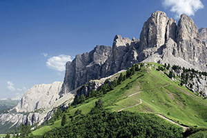 italie ampezzo vue densemble des dolomites  fo