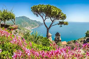 italie cote amalfitaine campanie panorama  fo