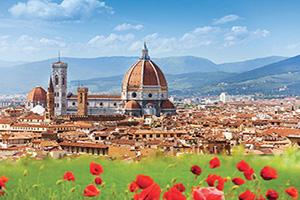 (vignette) Vignette Italie Florence Duomo et le Campanile de Giotto  fo
