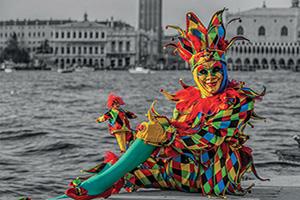 italie venise arlequin carnaval  fo