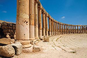 jordanie jerash ruines romaines
