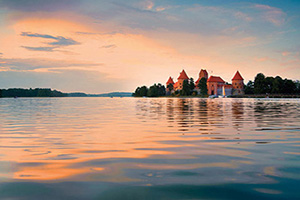 lituanie vilnius trakai panorama  it