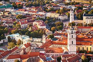 lituanie vilnius vieille ville  it