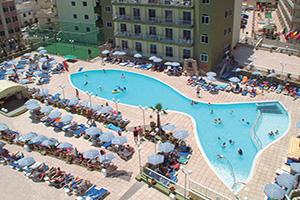 maltes hotel topaz piscine