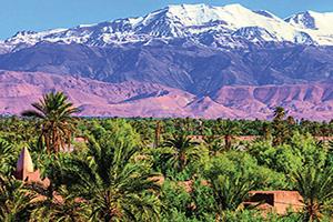 maroc oasis et haut atlas mouintain gamme  it