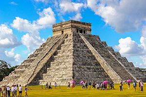 mexique chichen itza pyramide  fo