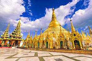 myanmar yangon pagode shwedagon  fo