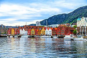 (vignette) Vignette Norvege Bergen maisons  it