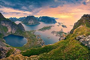 norvege fjord paysage  it