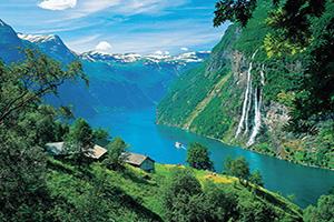 norvege geiranger panorama