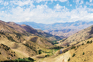 ouzbekistan qamchiq col de montagne  fo