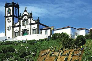 (vignette) Vignette Portugal Ile Sao Miguel Porto Eglise  fo