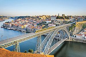 (vignette) Vignette Portugal Porto Pont Dom Luis  fo