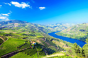 portugal vallee du douro panorama  it