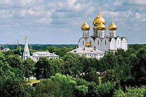 russie iaroslavl cathedrale de assomption vierge marie  it