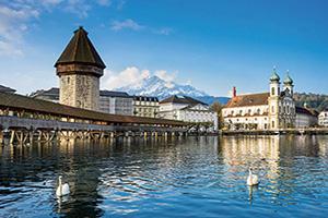 suisse lucerne pont de la chapelle  fo