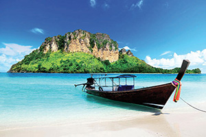 thailande poda long bateau  it