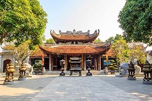 (vignette) Vignette Vietnam Hanoi temple  it