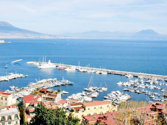 voyage italie mer naples