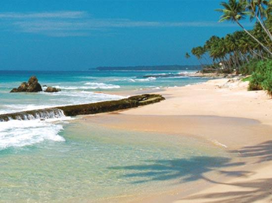 voyage sri lanka plage mer