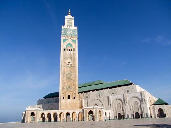 voyage maroc mosquee hassan casablanca