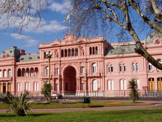 voyage argentine  casa rosada buenos aires