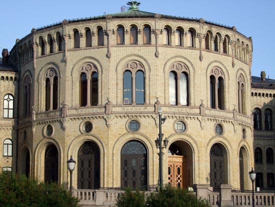 voyage norvege parlement oslo